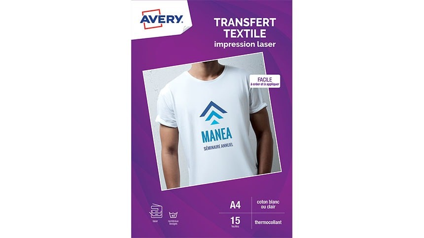Pack Transfert Textile Laser