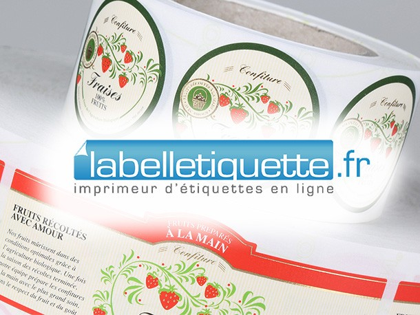 labelletiquette rouleaux