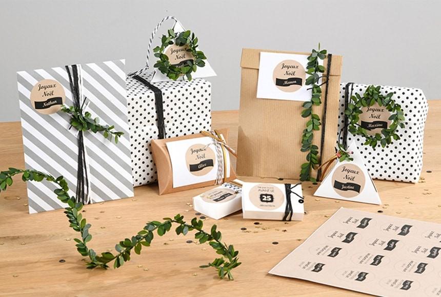 Des Jolies Etiquettes Cadeaux De Noel A Imprimer Avery