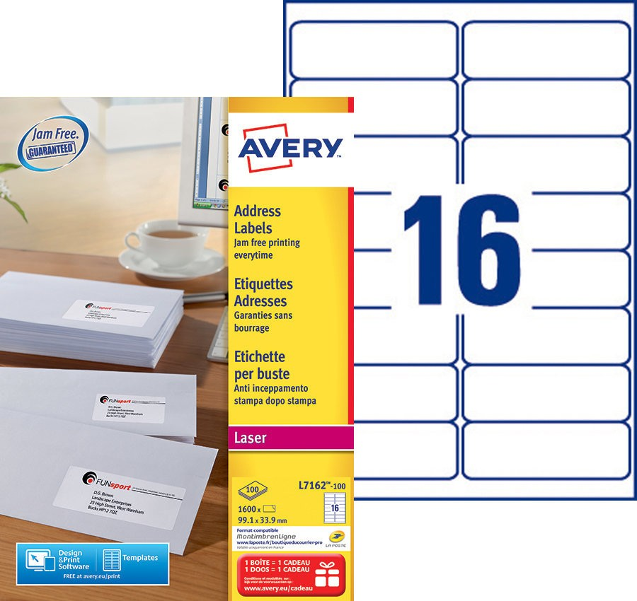 Avery L7162 Template Choice Image Template Design Free Download