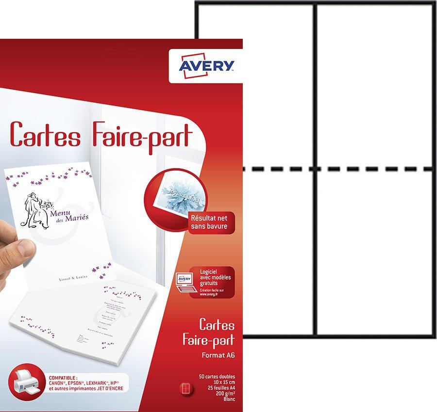 Cartes De Voeux Et Faire Part C2361 20 Contenu 50 25