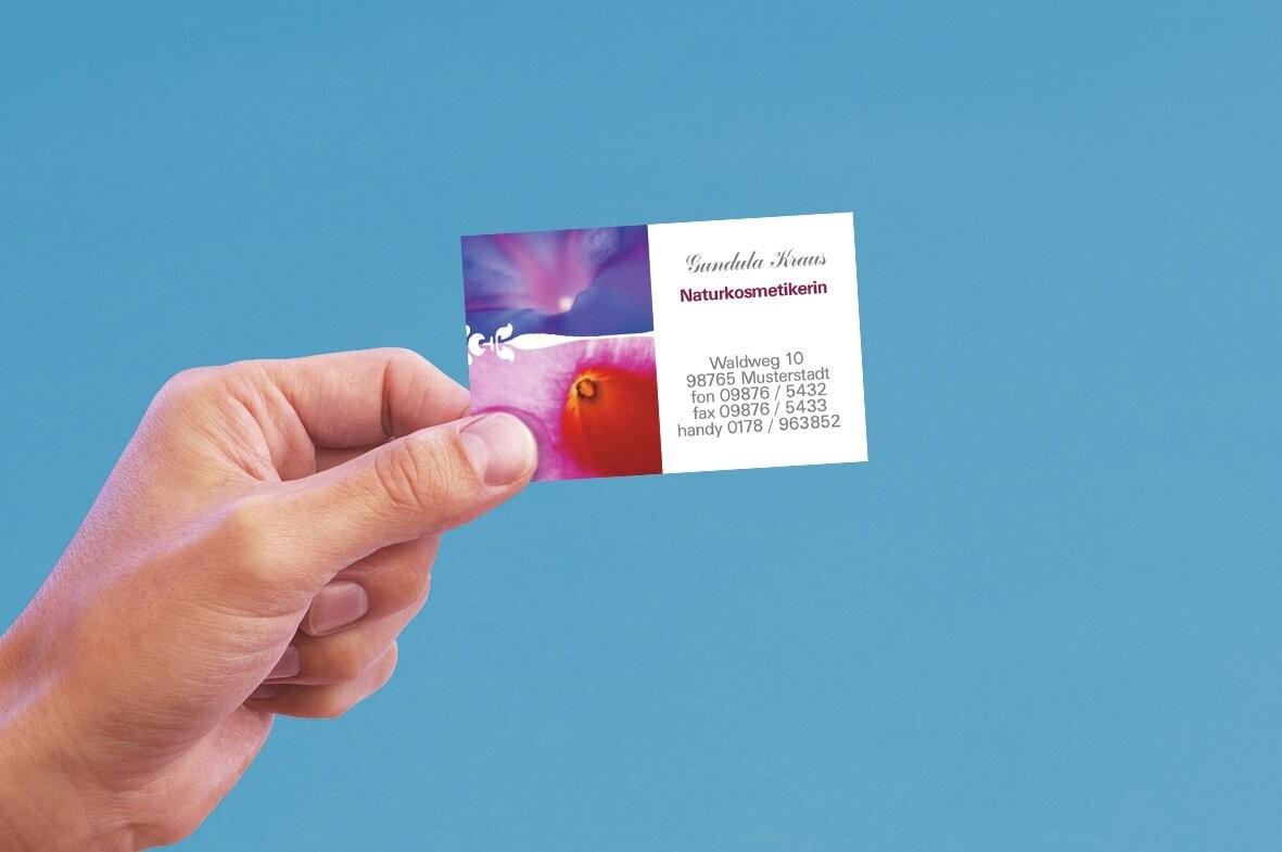 Cartes De Visite Microperforees Appl