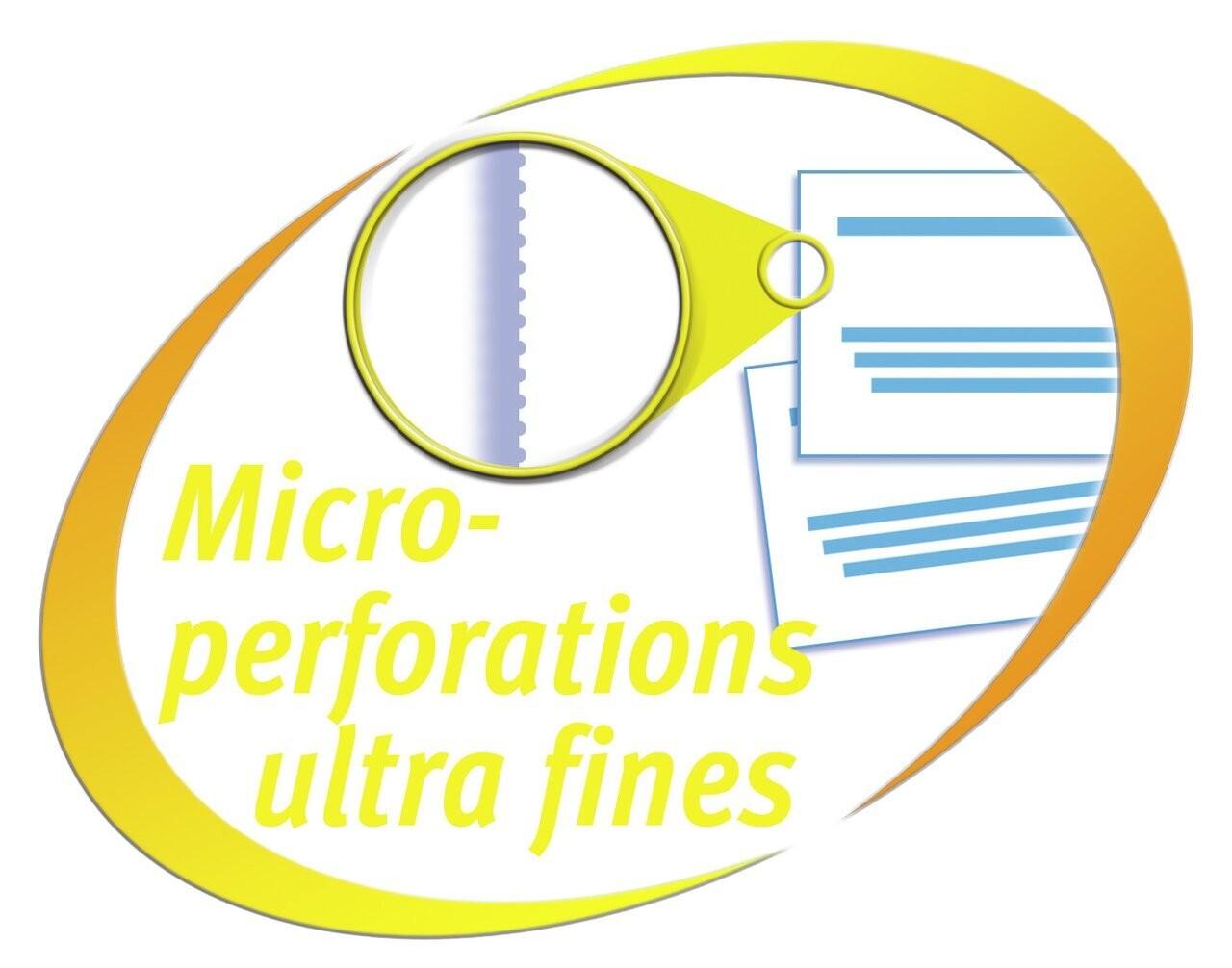 Microperforated FR Yellow 300 Violator