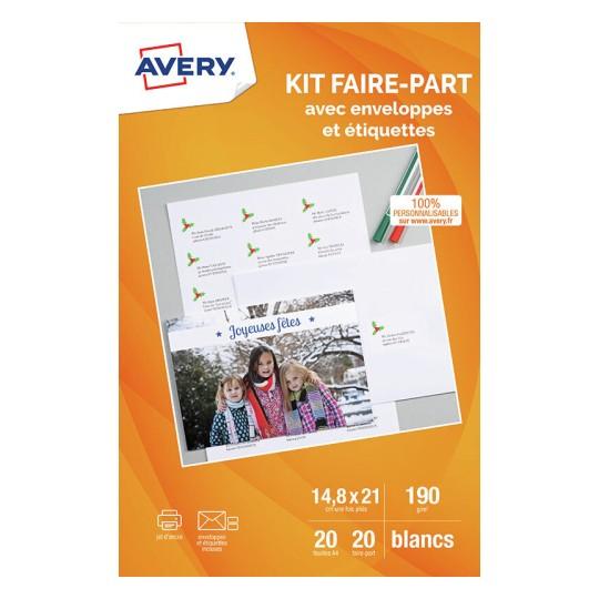 Des Cartes De Vœux Personnalisables A Imprimer Avery