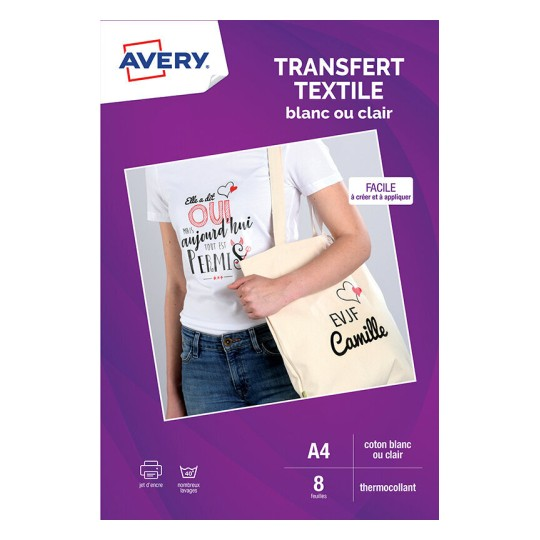 Transferts Pour Textiles Blancs Ou Clairs En Coton C9405 8